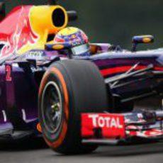 Mark Webber marcó el ritmo en los Libres 2