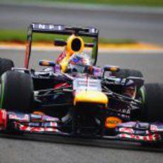 Sebastian Vettel fue el más rápido en los Libres 2 de Bélgica