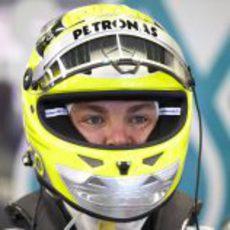 Primer plano de Nico Rosberg