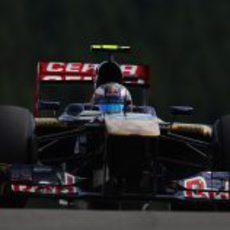 Daniel Ricciardo maximiza el tiempo en pista