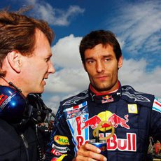 Webber y Horner