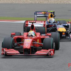 Vettel y Massa