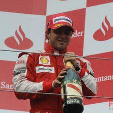 Massa y el champán