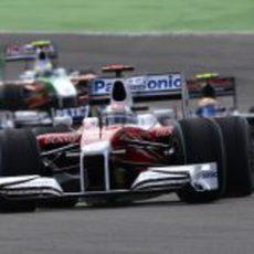 Trulli en el GP de Alemania