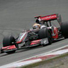 Hamilton en Nurburgring
