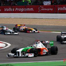 Sutil en el GP de Alemania