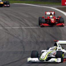 Button y Massa