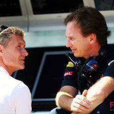 Coulthard y Horner