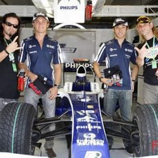 Los dos pilotos de Williams y Tankcsapda