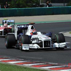 Kubica intenta pasar de la Q1