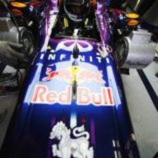 Sebastian Vettel se sube al RB9