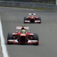 Descalabro de los dos Ferrari