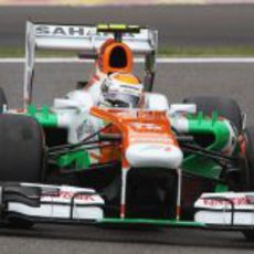 Adrian Sutil se quedó a las puertas de la Q3