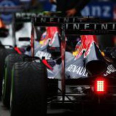 Los Red Bull hacen cola en la clasificación