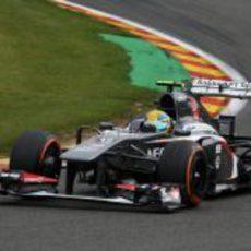Esteban Gutiérrez no tuvo ritmo y cayó en Q1