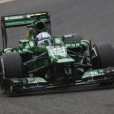 Giedo van der Garde pasó a la Q2 en Spa