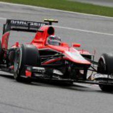 Max Chilton llegó a la Q2 en Spa