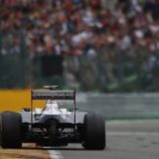 Valtteri Bottas fue 15º en Spa