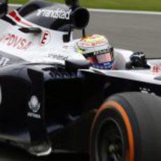 Pastor Maldonado tuvo una carrera complicada