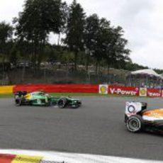 Giedo van der Garde se mantiene entre pilotos más rápidos