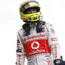 Sergio Pérez listo para otra carrera con McLaren