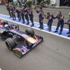 Mucho apoyo para Daniel Ricciardo