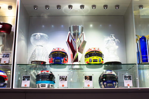 Sala de trofeos de McLaren