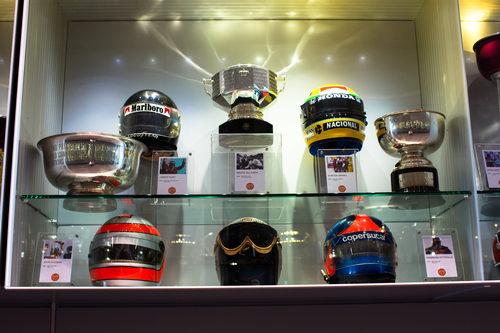 Ayrton Senna y Alain Prost, presentes