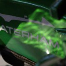 Logo de Caterham en Monza