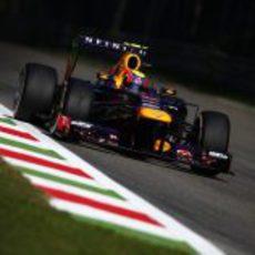 Mark Webber termina segundo por la tarde
