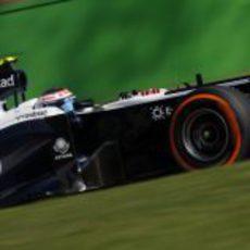 Valtteri Bottas rueda en Monza