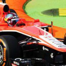 Rodolfo González sustituyó a Bianchi en los Libres 1 de Italia