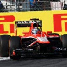 Rodolfo González rueda en Monza
