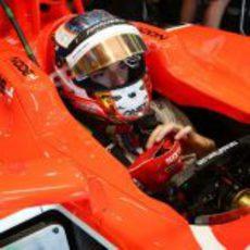 Jules Bianchi retoma el volante del MR02 en los Libres 2