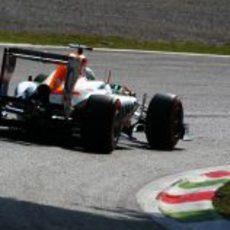 Parte trasera del Force India de di Resta