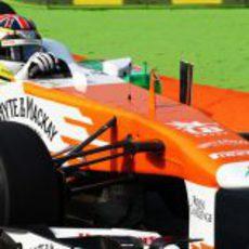 James Calado rueda por primera vez en un Gran Premio