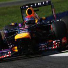 Sebastian Vettel se llevó otra pole
