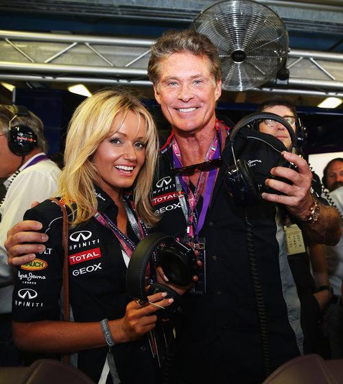 David Hasselhoff, invitado de Red Bull