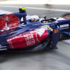 Nuevos colores en el Toro Rosso en Monza