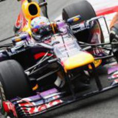 Sebastian Vettel se mostró intratable en Monza