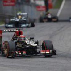 Kimi Räikkönen inicia su remontada
