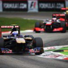 Daniel Ricciardo alcanzó los puntos en Monza