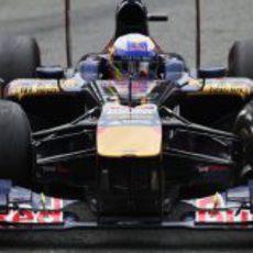 Daniel Ricciardo sumó puntos en Monza