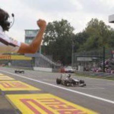 Alegría en Sauber por la quinta plaza de Nico Hülkenberg