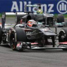 Nico Hülkenberg alcanza la quinta plaza en Monza