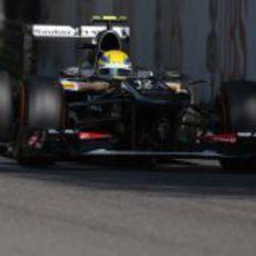 Esteban Gutiérrez tuvo buen ritmo en Monza