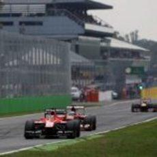 Jules Biacnhi se prepara para ser doblado por Alonso