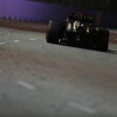 Parte trasera del E21 de Räikkönen