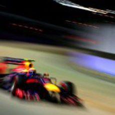 Mark Webber, cuarto en Singapur