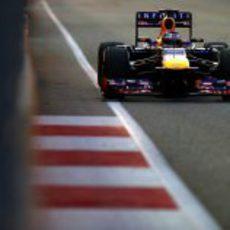 Sebastian Vettel en los últimos libres